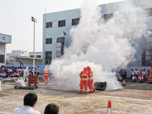 宜安科技-安全消防演示